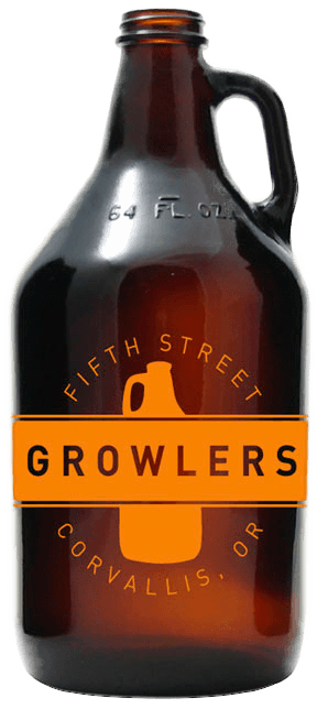 5th Street Growlers bottle Craft Beer Corvallis, Oregon